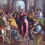 Эль Греко Христос изгоняет торгующих из храма Около 1600 106 x 128 см Холст, масло Лондон. Национальная галерея