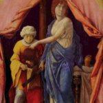 Мантенья, Андреа Юдифь и Олоферн Около 1495 30,11 x 18,1 см Дерево Вашингтон (округ Колумбия). Национальная галерея