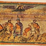 Picture XXXIV from the Ambrosian Iliad, The Capture of Dolon