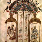 Rabula Gospels Folio09v Matthew John