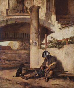 Стражник \ Часовой (1654), Государственный музей Шверина