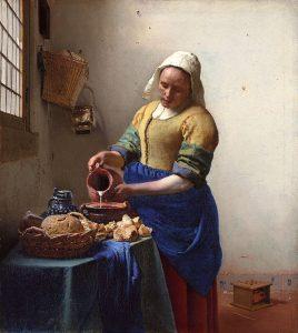 «Служанка с кувшином молока»