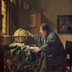 Астроном. ок. 1668 нидерл. De astronoom Холст, Масло. 51 × 45 см Лувр, Париж, Франция