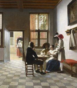 Игроки в карты (1658)