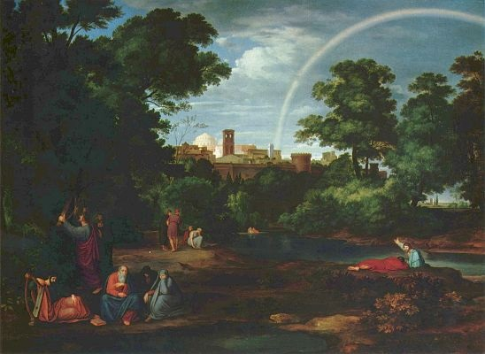 Оливье Фердинанд. Иудеи в вавилонском плену.