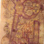 Монограмма «Хи-Ро». Келлская Книга. Лист 34r. Ок. 800 г. Дублин, Библиотека Тринити-Колледжа, Ms. 58 (A.I.6)