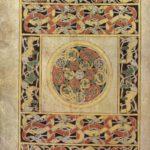 3. Ковровая страница. Евангелие из Дарроу. Лист 192v. Ок. 675 г. Дублин, Библиотека Тринити-Колледжа, MS A. 4. 15. (57)