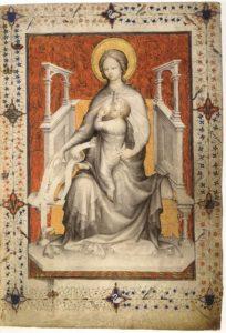 Жакмар де Эсден. Прекраснейший Часослов герцога Беррийского. Tres Bellers Heures ок. 1402 Королевская библиотека в Брюсселе