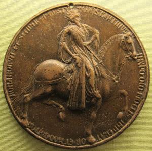 Копия медали с Константином на коне, принадлежавшей Ж.Беррийскому