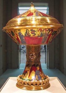 Кубок святой Агнессы в Британском Музее