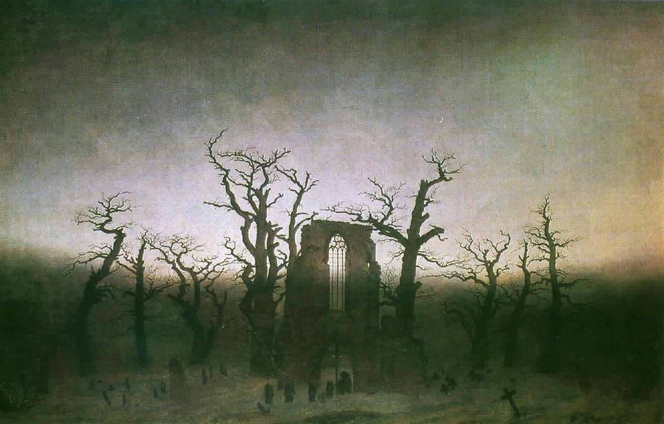 аббатство в лесу