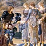 бёрн-джонс_Perseus_and_the_Sea_Nymphs_1877