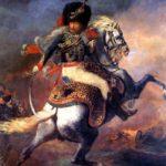 офицер конных егерей идущий в атаку 1812