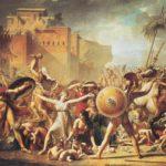 Сабинянки, останавливающие сражение между римлянами и сабинянами (1799)