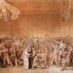 клятва в зале для игры в мяч 1791 эскиз