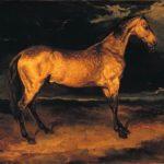 Испугавшаяся лошадь