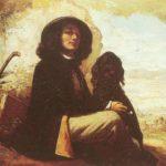 автопортрет с черной собакой 1844