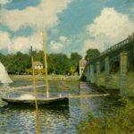 Мост в Аржантее 1874