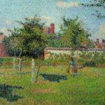 весеннее солнце_дивизионизм 1887
