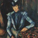 дама в голубом 1899