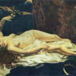 дама с попугаем 1866