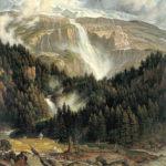 йозеф антон кох шмадрибахский водопад