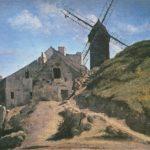 мельница на монмартре 1845