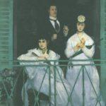 на балконе 1869