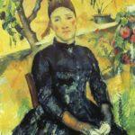 портрет жены 1890