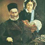 портрет родителей 1860