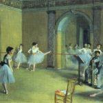 репетиция в Опере 1872