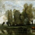 пейзаж с коровой