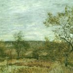 Ветреный день в Венё 1882