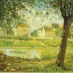 Городок Вильнев Ла Гаренн 1872