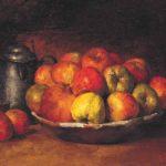 Натюрморт с яблоками и гранатом