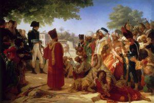 Бонапарт, прощающий каирских бунтовщиков