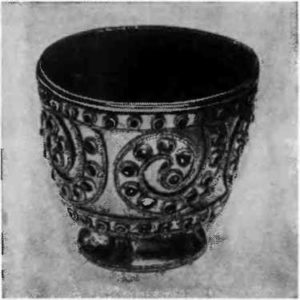 Золотой кубок. Второе тысячелетие до н.э. Кавказ.