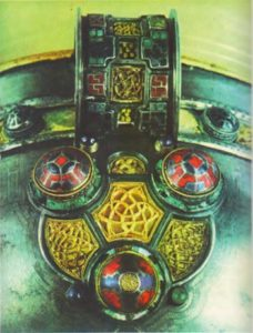 Фрагмент чаши из Ардага, VIII в. Дублин, Национальный музей