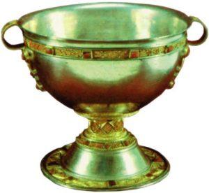 Чаша из Арда. VIII в. (Национальный музей Ирландии, Дублин)