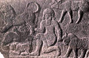 Хеттский рельеф из Секче-Гезу Около 7 в. до н. э