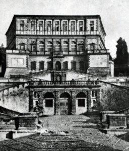 Виньола. Замок Капрарола близ Витербо. После 1562 г. Общий вид