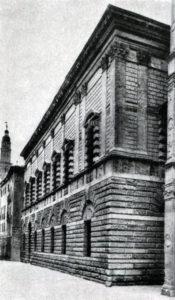 Палладио. Палаццо Тьене в Виченце. 1550-е гг. Фасад