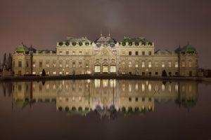 Дворец Верхний Бельведер в Вене. Архитектор Л. Хилъдебрандт. 1721-1722 г.