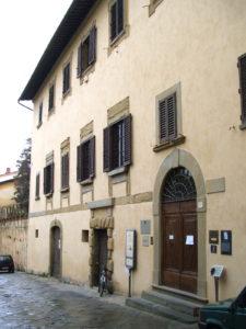 Дом Вазари в Ареццо. Фасад