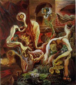 Масон. Превращение любовников. 1938