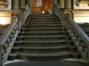 Микеланджело. Лестница Лауренцианы