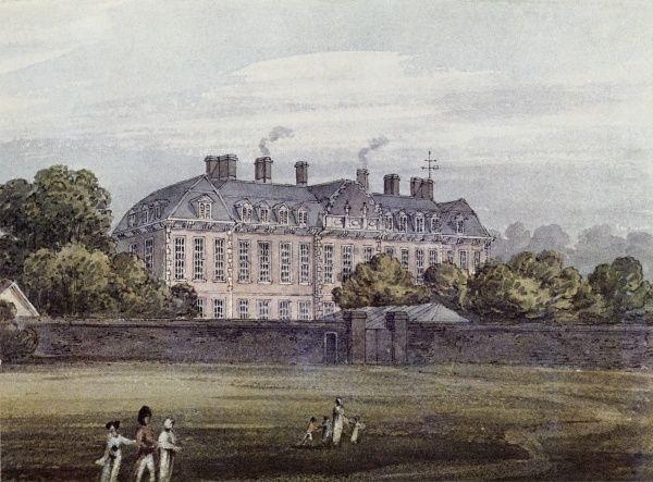 Первое-здание-Британского-музея-—-Монтегю-хаус Bloomsbury