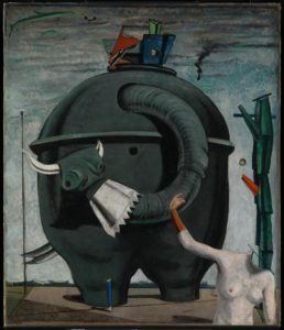 Эрнст. Слон Целебес. 1921. Celebes 1921 Max Ernst 1891-1976 Purchased 1975. Галерея Тейт. http://www.tate.org.uk/art/work/T01988