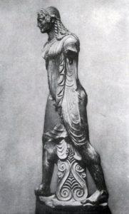 Скульптор Вулка. Статуя Аполлона из Вей. Глина. Около 500 г. до н. э. Рим. Вилла папы Юлия.