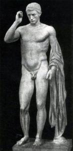 Статуя Германика. Мрамор. Конец 1 в. до н. э. Париж. Лувр